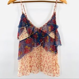 Free People Sheer Floral Tank | L